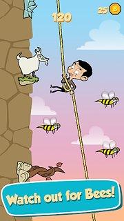 Mr Bean - Risky Ropes - snímek obrazovky