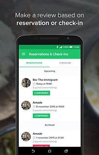 Restu - snímek obrazovky