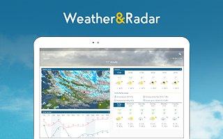 Weather & Radar - snímek obrazovky