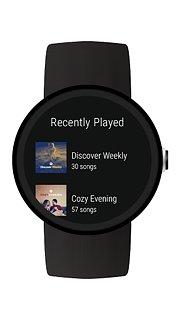 Spotify Music - snímek obrazovky