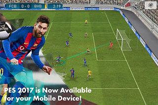PES 2017 - snímek obrazovky