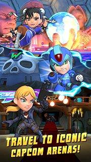 Puzzle Fighter - snímek obrazovky