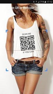 QR & Barcode Scanner - snímek obrazovky