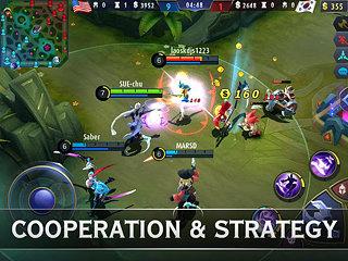 Mobile Legends: Bang Bang - snímek obrazovky