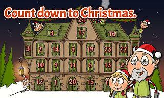 Adventní kalendář - snímek obrazovky