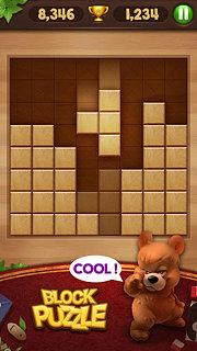 Wood Block Puzzle - snímek obrazovky