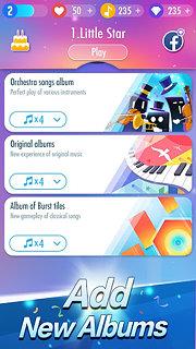 Piano Tiles 2™(Don't Tap...2) - snímek obrazovky